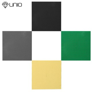 unio Base plate for Small Bricks Baseplates 24*24 Dots 19x19cm DIY Building Bloc
