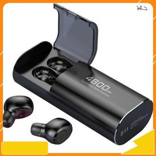 Tai nghe Bluetooth Kiêm Sạc Dự Phòng Amoi S11 TWS 4800 mAh Công Nghệ 5.0 Không Dây Nghe Nhạc Sống Động paris01.shop