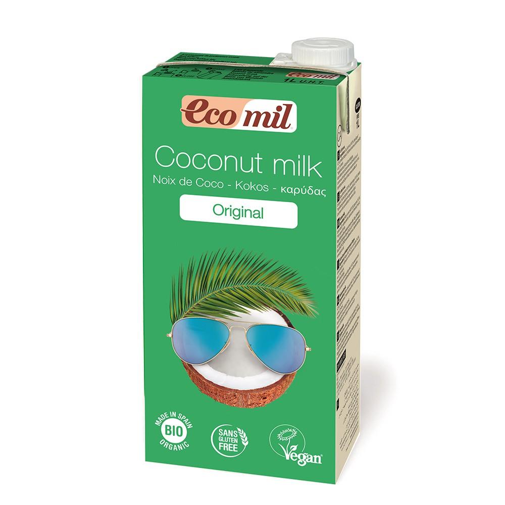 Sữa dừa hữu cơ Ecomil 1l