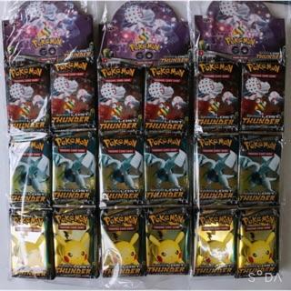 Thẻ bài pokemon bản tiếng Anh ( túi 36 gói-gói 8 bài)