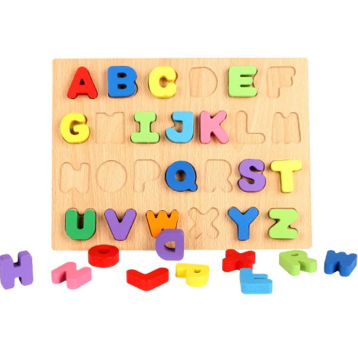 Bảng ghép nổi chủ đề chữ và số cho bé