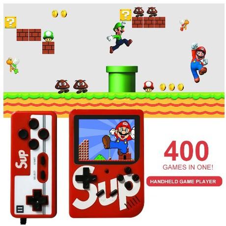 Máy game sup 400 tặng tay cầm hỗ trợ 2 người chơi - sup 400 trò bản cao cấp