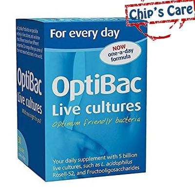 Optibac xanh da trời for daily wellbeing men vi