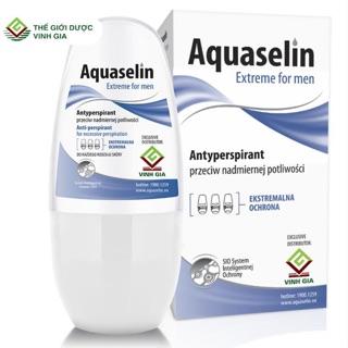 [Mã COSHOT03 giảm 10% đơn 350K] Aquaselin lăn nách cho nam 50ml thumbnail