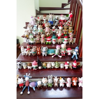 Gấu bông Noel handmade nhiều mẫu từ 200k/con
