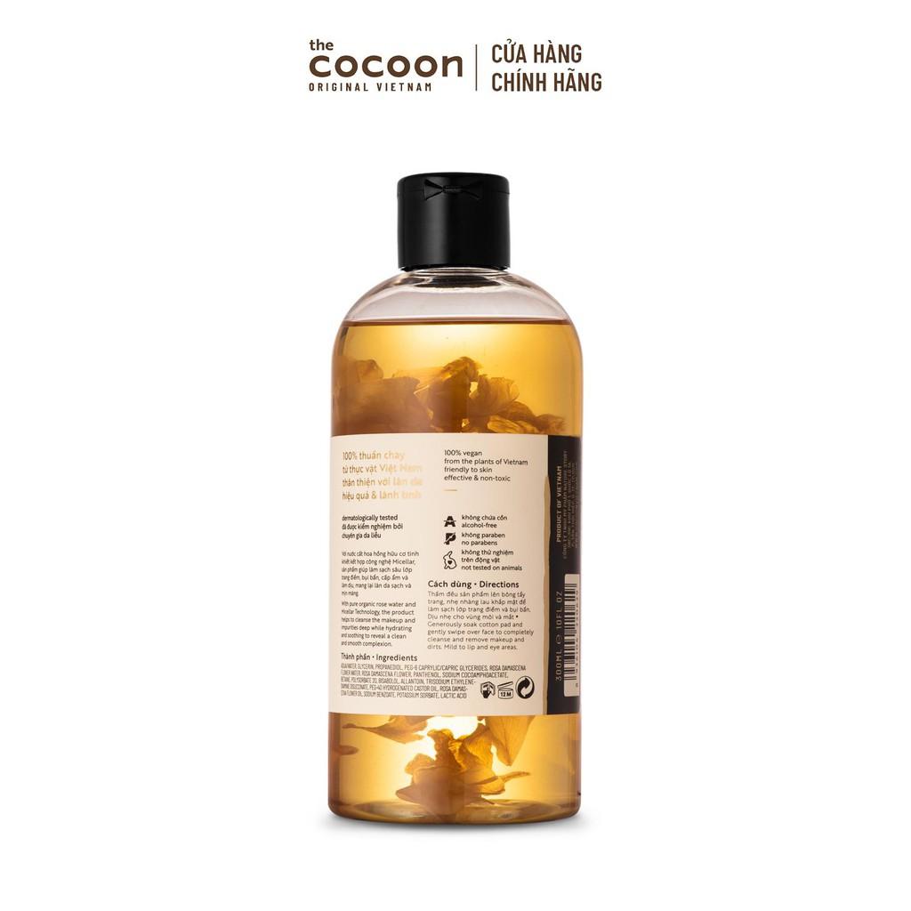 Nước tẩy trang hoa hồng Cocoon 300ml
