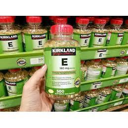 Vitamin E 400 IU 500 Viên Kirkland
