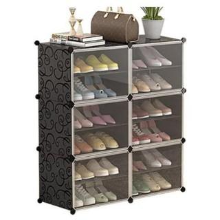 Tủ giày dép nhựa ghép đa năng 12 ngăn