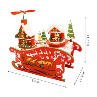 Mô hình nhà búp bê DIY- quà tặng giáng sinh