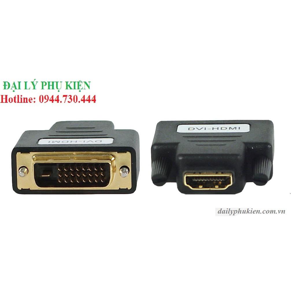Đầu chuyển DVI 24+1 to HDMI rẻ - 2930554 , 126402061 , 322_126402061 , 40000 , Dau-chuyen-DVI-241-to-HDMI-re-322_126402061 , shopee.vn , Đầu chuyển DVI 24+1 to HDMI rẻ