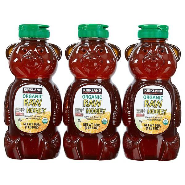 Mật ong thô (raw) Grade A hữu cơ Kirkland 680g