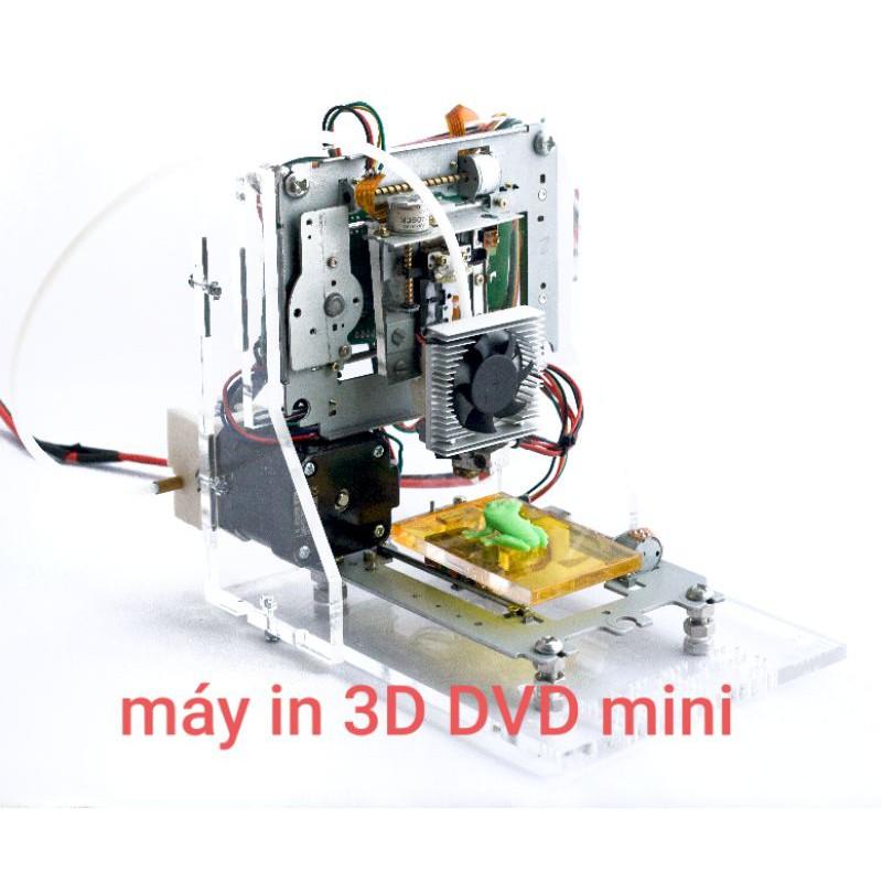 Khung CNC mini từ ổ đĩa CD