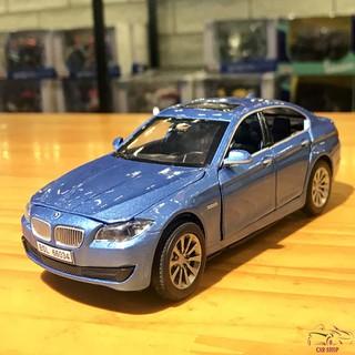 Mô hình xe ô tô BMW 535i tỉ lệ 1:32 màu xanh lam