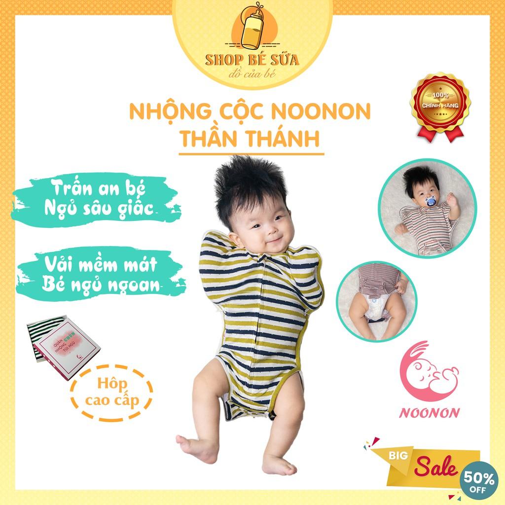 Nhộng Chũn Hở Chân Noonon ❤FREESHIP❤ Giảm 15k nhập [NOONON] Nhộng Cộc giúp bé sơ sinh ngủ ngon
