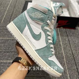 [GeekSneaker] Giày  Air Jordan 1 High Turbo Green - Phiên Bản Tiêu Chuẩn