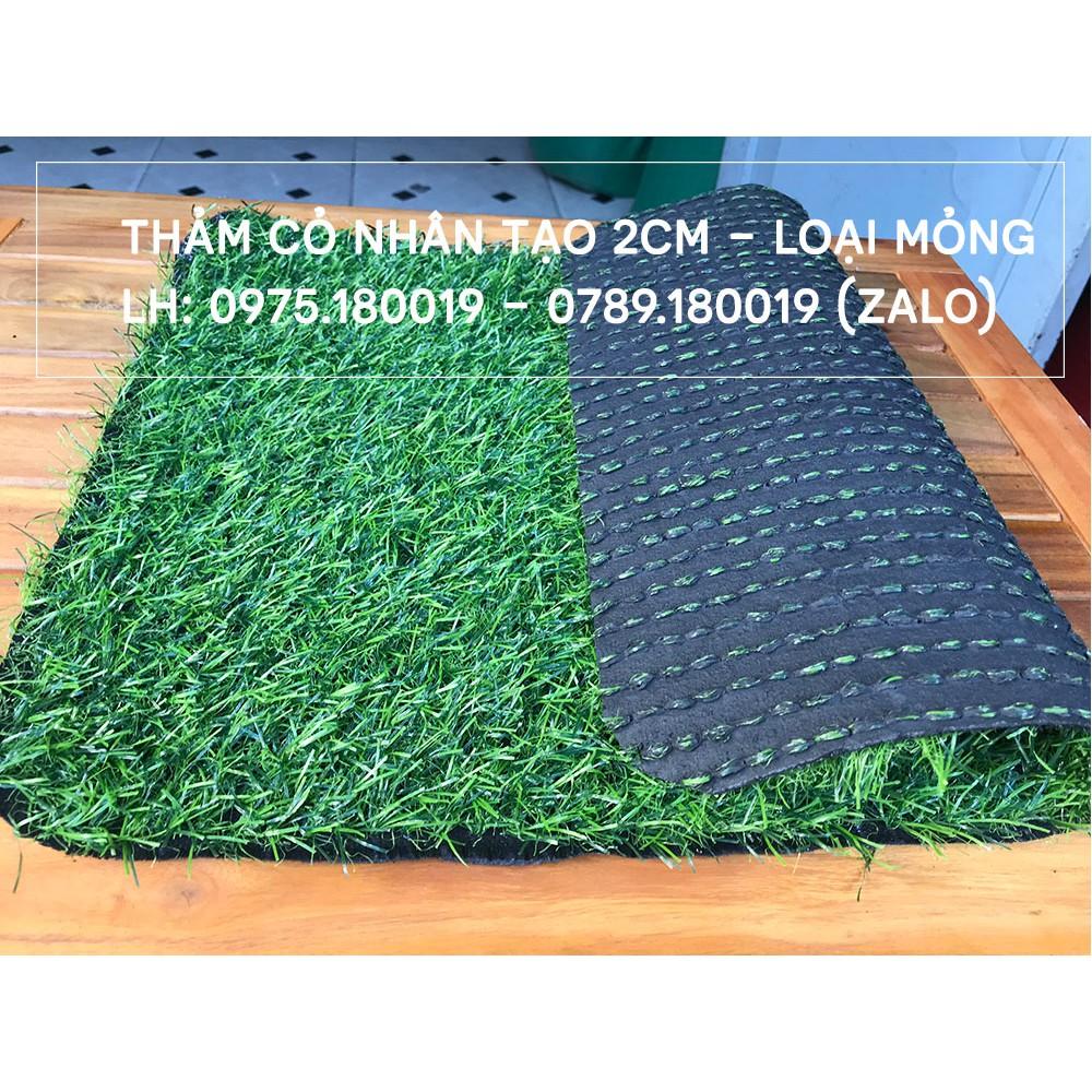 [COMBO 10m2] Thảm cỏ nhân tạo 2cm | Cỏ nhân tạo SG