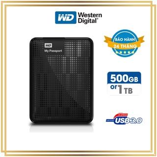 Ô cư ng di động WD PASSPORT 2.5 USB 3.0 500GB 1TB - [Bảo hành 24 Tháng] Ổ cứng gắn ngoài ưa chuộng nhất thumbnail