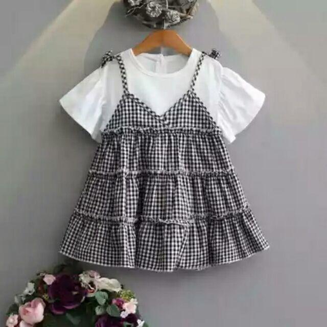 (CÓ SẴN )Váy baby doll cho bé
