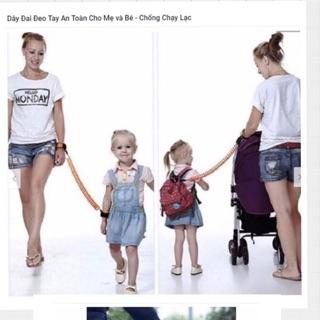 Dây đai đeo an toàn cho mẹ và bé chống lạc