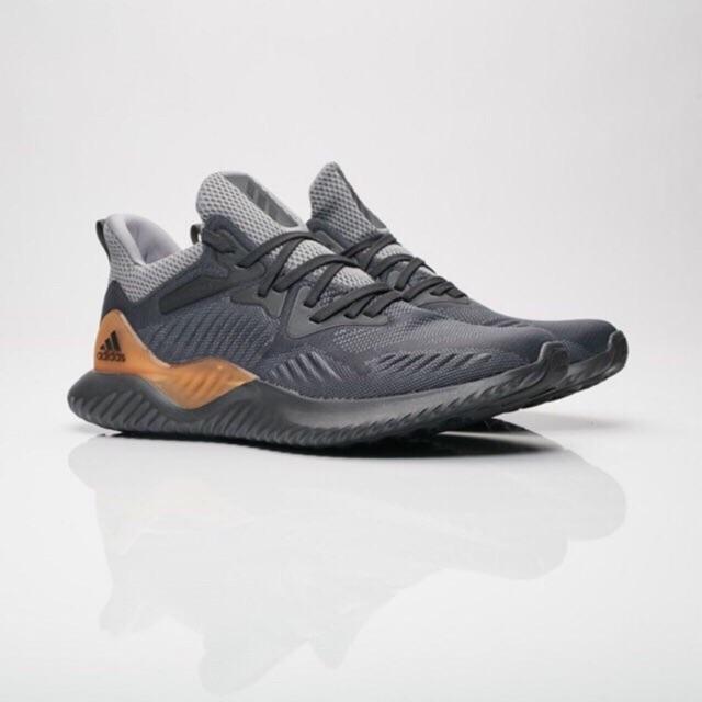 Giày sneaker alphabounce gray carbon