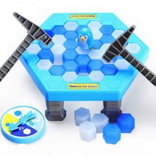 Bộ trò chơi bẫy chim cánh cụt – phá băng (Xanh trắng)