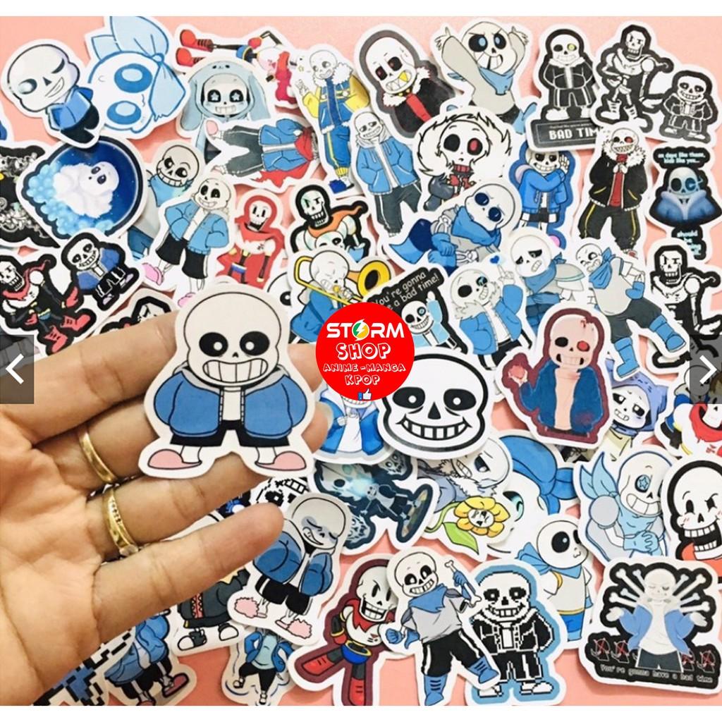 Sticker / Hình dán Game sans undertale (Combo 10-50)