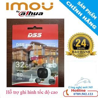 Thẻ nhớ 32GB chính hãng DSS chuyên dùng cho camera, máy ảnh,điện thoai,máy tính bảng
