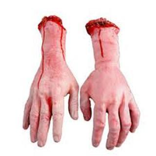 Đồ chơi bàn tay máu