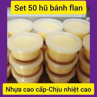 [Đảm Bảo Hài Lòng] Set 50 Hũ Làm Bánh Flan,Rau câu,Sữa Chua,Yaourt… (Kích Thước Vừa, Thông Dụng Nhất)