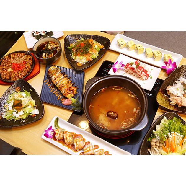 Hồ Chí Minh [Voucher] - Buffet Sushi và Lẩu Nhật Bản tại Nhà hàng Furano Sushi