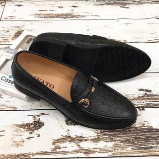 Giày Tây Nam Công Sở Giày Lười Da Bò Thật GY87
