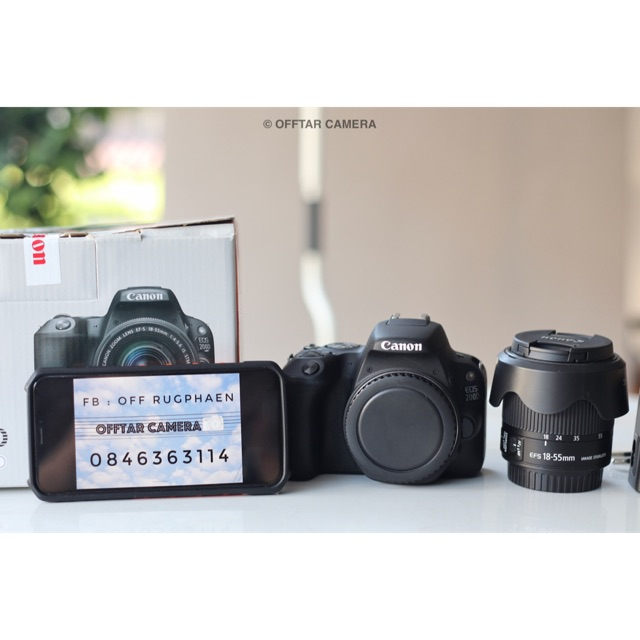 Canon EOS 200D + Kit 18-55 f 4-5.6 STM IS STM