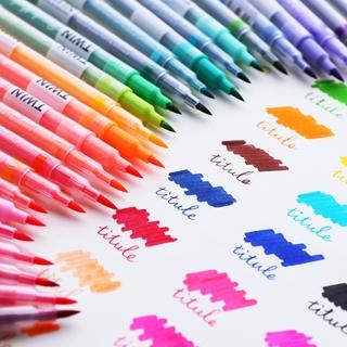 Hình ảnh Winzige Brush Pen Bút lông thiết kế 2 đầu viết hoặc vẽ-7