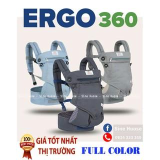 ĐỊU TRỢ LỰC ERGO 360 – 4 TƯ THẾ- FULLBOX (COTTON 100%)