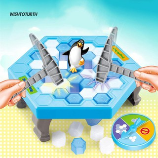 ☼WT Save Penguin Ice Block Breaker Trap Toys Funny Parent Children Kids Table Game