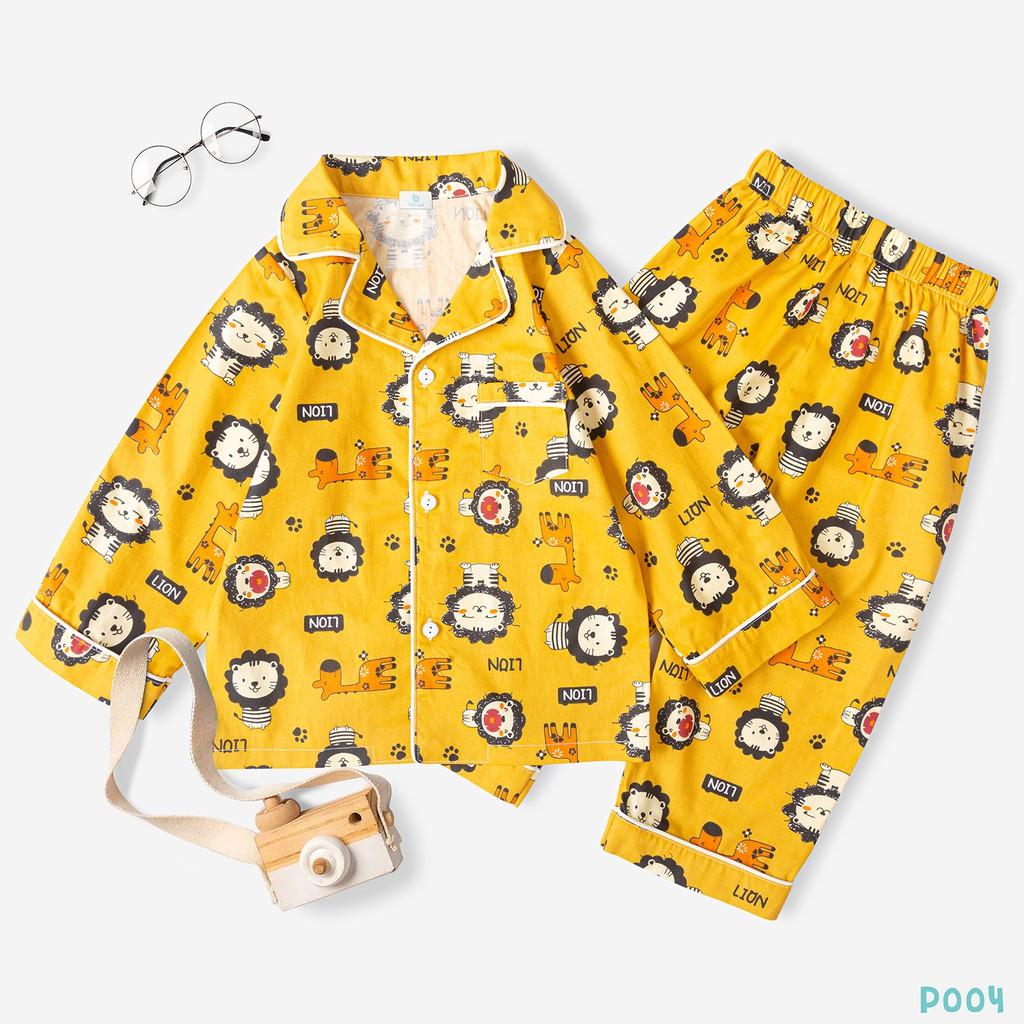 Bộ Pijama Cho Bé Chất Liệu Cao Cấp Hình Siêu Đẹp Thời Trang BELLO LAND