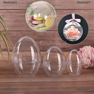 Khuôn làm bom tắm hình quả trứng trái tim bằng nhựa acrylic trong suốt thumbnail