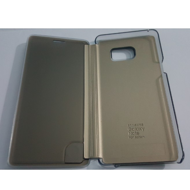 Bao Da Clear View Cover Galaxy Note Fan Edition Chính Hãng