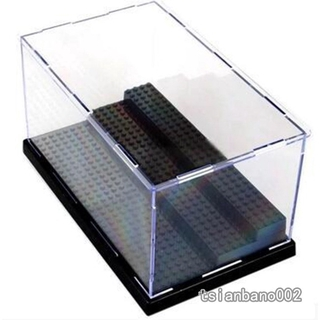 【In stock】 Dust-proof Transparent Display Box 3-layer Removable Acrylic Steps for Assembly Toys Desktop Ornament