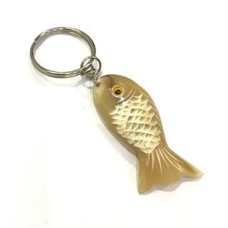 Móc treo chìa khóa hình cá bằng Sừng trâu - TỈA TÁCH RẤT ĐẸP (OTH010) HAHANCO thumbnail