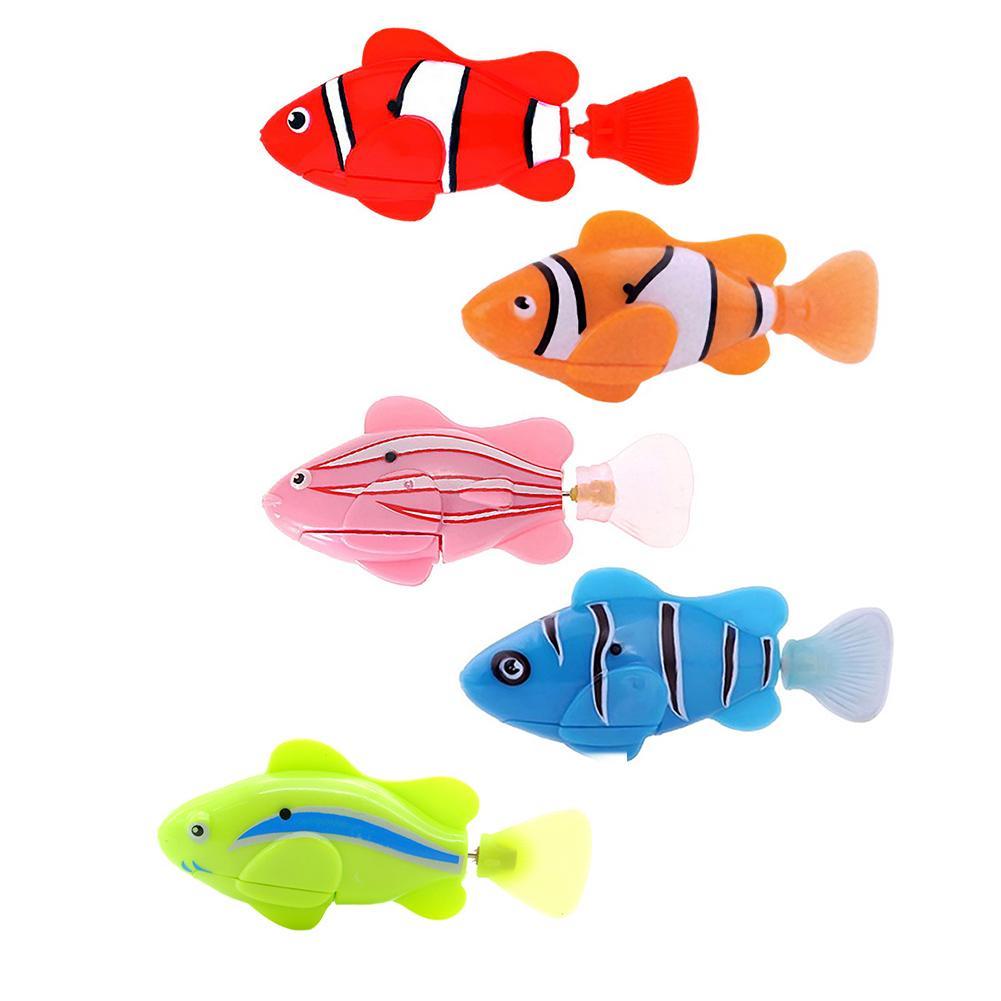 Children bath toys swim fish pet electronic