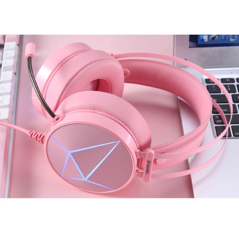 Tai nghe Gaming DAREU EH722s Magic Queen Pink