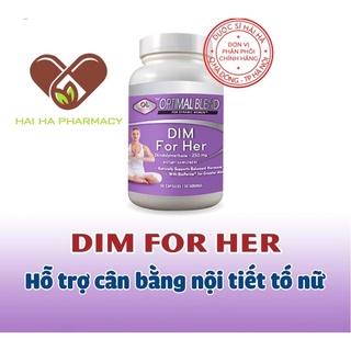 Viên uống hỗ trợ cân bằng nội tiết tố nữ DIM FOR HER OLYMPIAN LABS, cải thiện sinh lý nữ thumbnail