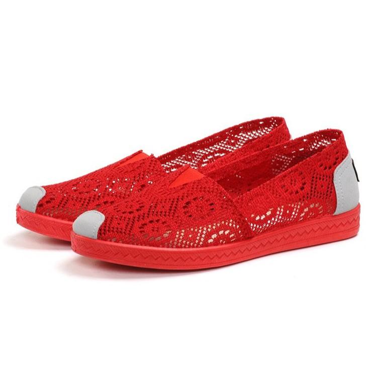 Giày slip on ren sang trọng GTTG23