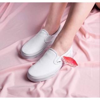 Giày Nữ Vanss White Đế Bằng Xinh Xắn Tiện Dụng thumbnail