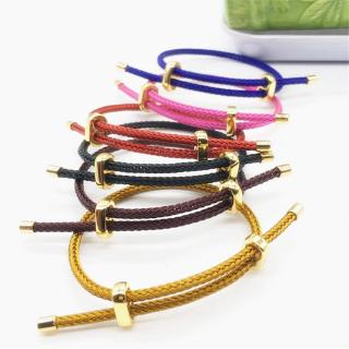 Vòng đeo tay có thể điều chỉnh Vòng đeo tay Dây chống nước dây vàng 8 hình trang sức Phụ kiện DIY