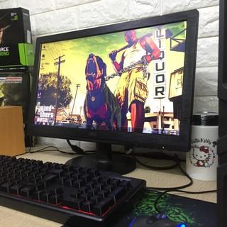 [ Màn hình 19inh ] Bộ máy tính chơi game LOL GTA V CF phím chuột đầy đủ
