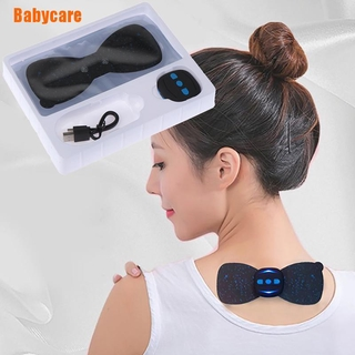 [Inthespring] Charging Massager Neck Stickers Cervical Vertebra Physiotherapy Instrument