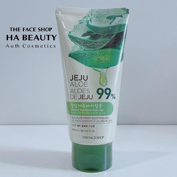 [The Face Shop AUTH] Gel dưỡng đa năng Jeju Aloe Fresh Smoothing Gel Type 300ml TFSN20
