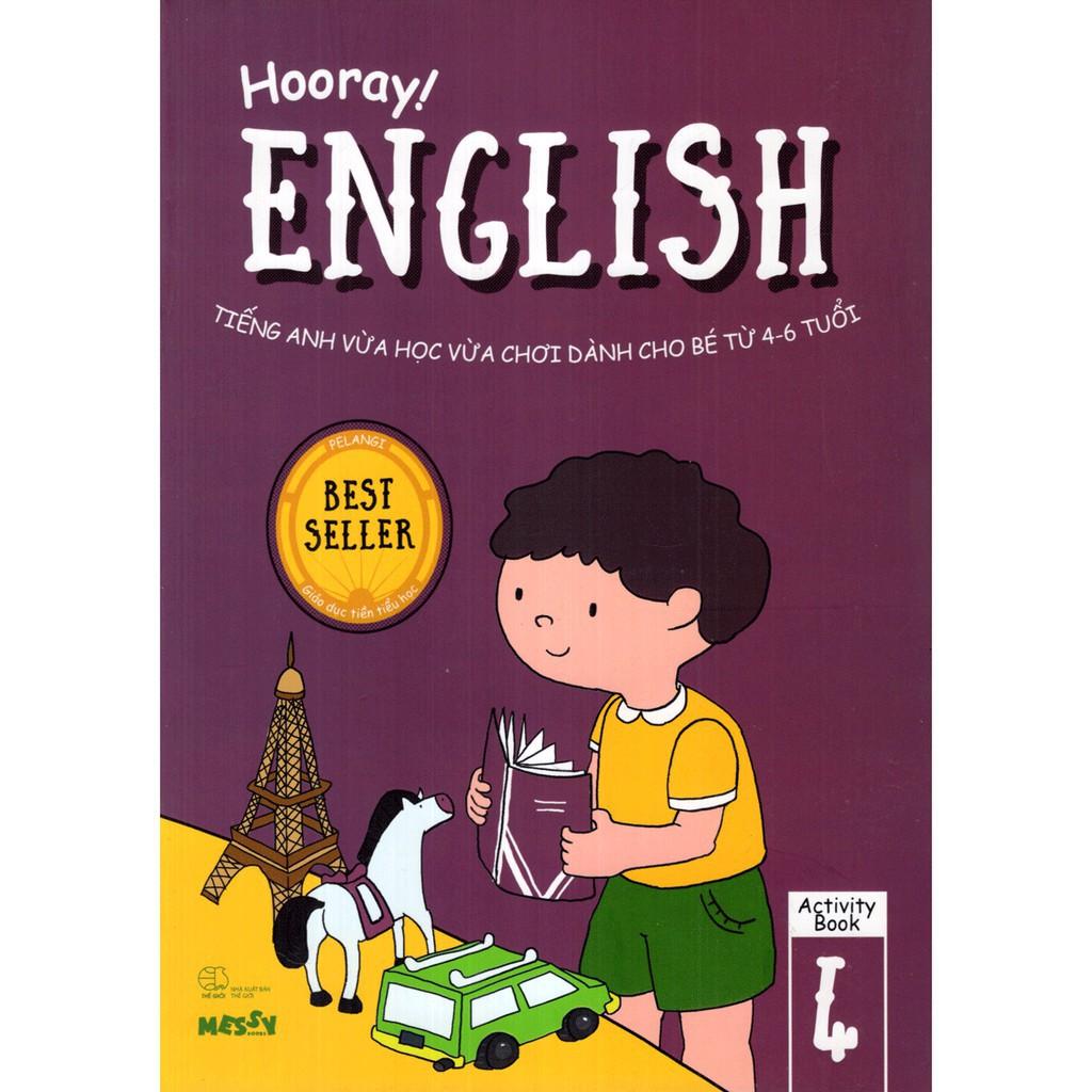 Sách - Hooray English - Tiếng Anh Vừa Học Vừa Chơi Dành Cho Bé Từ 4-6 Tuổi  (Activity Book 4)